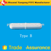 Ptfe magnetic stirring bar for laboratory round bar