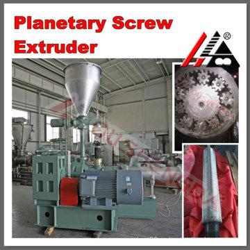 Extrusora de tornillo planetario de alto rendimiento para producción de plástico que hace perfil de tubería de PVC tornillo planetario