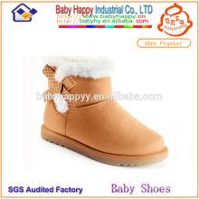 Китай верхние продажи high-top теплые зимние детские сапоги