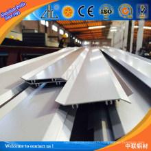 6061 6005 6063 Profil d'auvent en aluminium extrudé