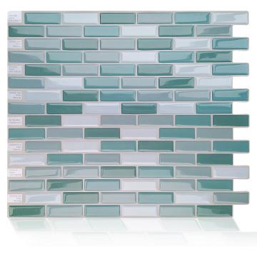 Mosaik Vinyl Wandfliesen Selbstklebender Aufkleber