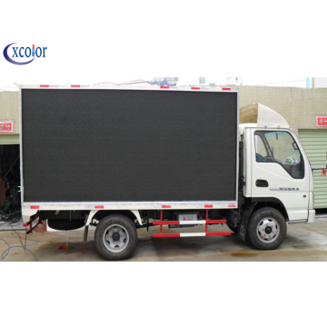Outdoor Video Mobile Vehicle Advertising LED Display Screen