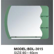 Толщина 5mm Серебряное стеклянное зеркало ванной комнаты (БДЛ-3015)