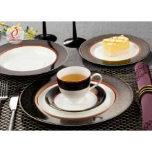 Пользовательские печатные обеденные тарелки из керамического фарфора