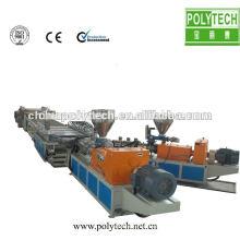 máquina de extrusión para tablero de plástico, maquinaria plástica compuesta del tablero plástico de la espuma del pvc / de madera