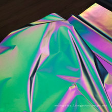 Polyester Reflective Fabric For Fashion Clothing