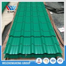Prime Glazed corrugated steel sheet