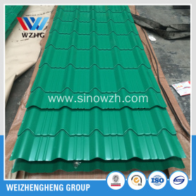 Prime Glazed corrugated steel sheet
