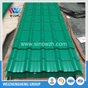 roofing steel corrugated galvanized iron sheet ppgi