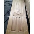 Piel de la puerta de la chapa HDF de la teca de China / piel de la puerta de la chapa del roble / piel de la puerta moldeada
