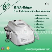 CE утвержденный 6 в 1 Кавитация Elight красоты оборудование Удаление волос омоложение кожи потеря веса