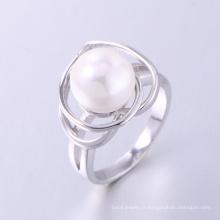 Bague de fiançailles perle style coréen nouveau design perle bague