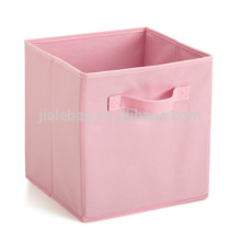 13 inch cosmetic colorful large foldable fabric cubby storage bins
