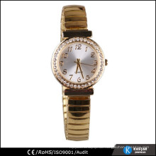 Diamant-Lünette Uhr Gesichter Gold Dame Vogue Uhr