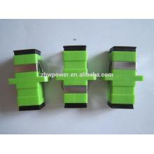 Adaptateur fibre optique simple APC / UPC Simplex de faible perte de qualité (<= 0,2 dB)