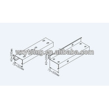 Passed CE und ISO YTSING-YD-0812 Stahl CZ Kanal Schnellwechsel Roll Forming Machine Hersteller