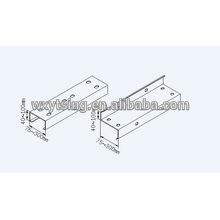 Профилированный станок для производства быстросменных рулонов CE и ISO YTSING-YD-0812 Пзготовителей