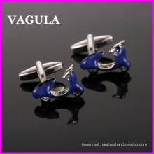 VAGULA Quality Brass Motor Cuff Links (HL10125)