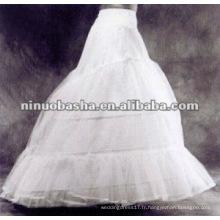 Nouveaux jupons de mariage de design