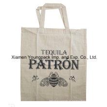 Promocionais Personalizado Cotton Canvas Pano Exposição Publicidade Gift Bag