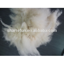 Dehaired and Carded Inner Mongolian light grey cashmere fiber 34-36mm