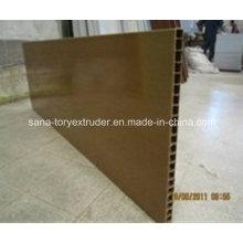 PVC WPC Plastic Hollow Door Panel Extrusion Production Machine Line