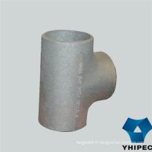 Té de montage de tuyau d'acier inoxydable 316 316L avec du CE