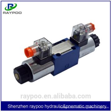 4we6ej60b / g24 lixin válvulas hidráulicas direccionales para la plataforma de perforación hidráulica sin zanjas
