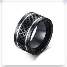 Men's Fashion anel de dedo da jóia do aço inoxidável (SR785)