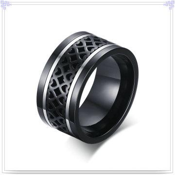 Herrenmode Edelstahl Schmuck Finger Ring (SR785)
