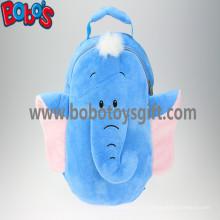 """11.8 """"Синий слон мультфильм Детские плечи плюшевые рюкзаки Bos-1228 / 30см"""