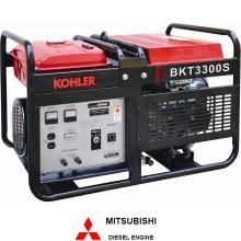 Главная страница Использование генератора с двигателем Honda (BKT3300)