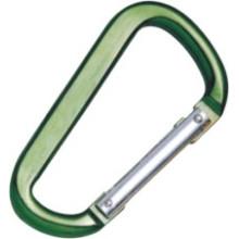 Aluminio de alta calidad Natural Green Snap Pet Ganchos