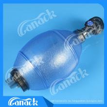 Resucitador manual de PVC ovalado