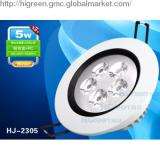 5W Power Embed round LED Ceiling Lights