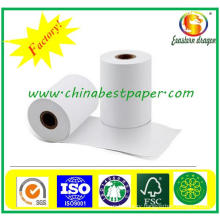 Top Coated 57mm X 38mm Thermal Cash Register Paper Roll