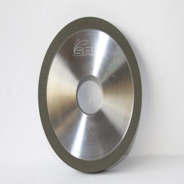 Metal and resin bond diamond flat wheel