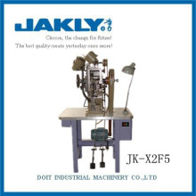 Industrial Double-eyelet setting shoe making machine JK-X2F5