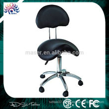 Fashion massage stool with casters,soft stool with casters