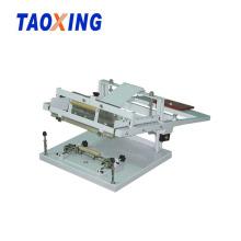 Máquina de impressão de tela de seda cilíndrica manual