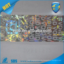 Alibaba China manufacturer void label security holograms