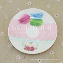 Set de plaques émaillées en porcelaine de différentes couleurs