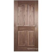Peau de porte de qualité supérieure / porte moulée de porte hdf / peau de porte plaquée