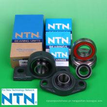 Diferentes tipos de rolamentos para equipamentos e máquinas industriais. Fabricado pela NTN Corporation. Feito no Japão