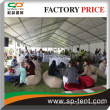 15x40m outdoor events marquee tent for 400 guests sit at table