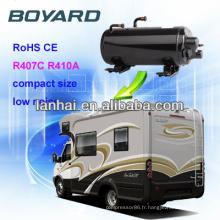 accessoires de campeur rv compresseur d'air conditionné QHC-19K ce rohs pour le climatiseur pour l'équipement de caravane de carlingue de camion
