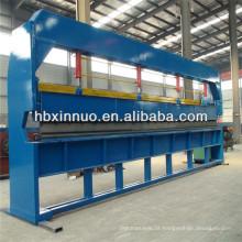 máquina de dobra da folha de metal feita na china