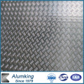 Five Bar Checkered Aluminium / Aluminium Sheet / Plate / Panel 3003/3105
