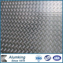 Five Bar Chequered Aluminum/Aluminium Sheet/Plate/Panel 3003/3105