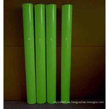 Autoadhesivo de película luminosa fotoluminiscente verde amarillo
